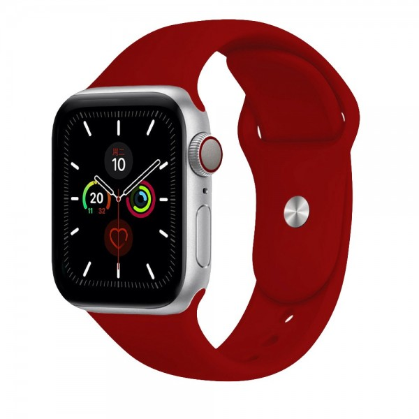Apple Watch Bands Burgundy