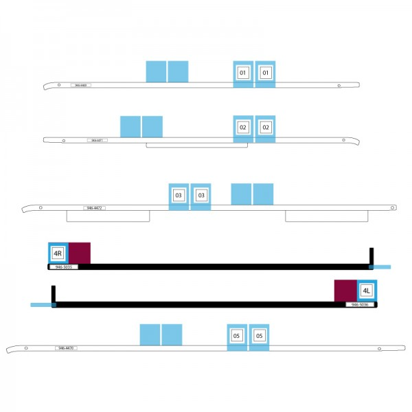 A1418 iMac Adhesive Strips (21,5 inç)