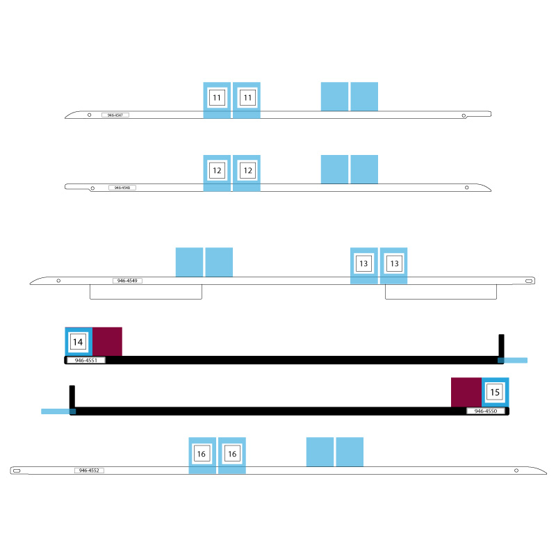 A1419 iMac Adhesive Strips (27 inç)
